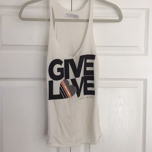 Spiritual Gangster Give Love Tank Top